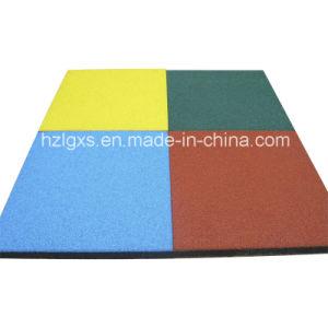 Colorful EPDM Dots Rubber Flooring Tile Carpet Rubber Tile pictures & photos