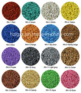 Colorful EPDM Granule for Running Track pictures & photos