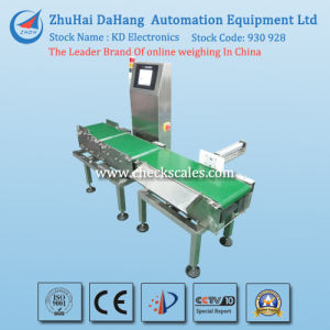 in Motion Checkweigher/Check Weigher with Rejecting System pictures & photos