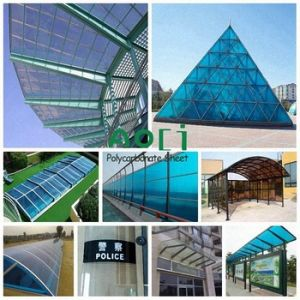 2016 Zhejiang Aoci Heat Insulation Polycarbonate Sheet for The Roofing pictures & photos