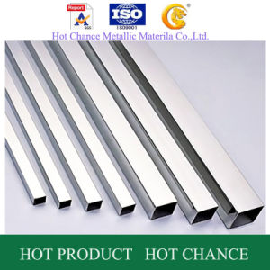 SUS 201, 304, 316 Stainless Steel Rectangular Pipe 400#Polished pictures & photos