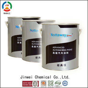 Jinwei Environmentally Friendly Bright Glitter Water Based Decorative Purple Paint pictures & photos