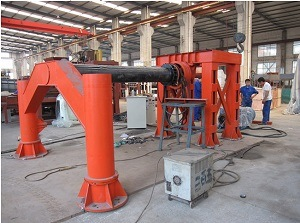 Hf-2000 Concrete Cement Screw Rolling Pipe Making Machine pictures & photos