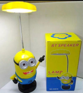 Minions Bluetooth Speaker Portable with Desk Lamp Wireless Mini Speaker Support TF FM Radio Built in Mic MP3 MP4 pictures & photos