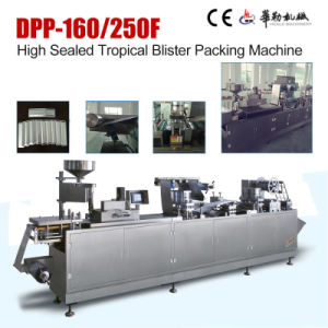Alu Alu Plastic Blister Packing Machine with Servo Motor pictures & photos