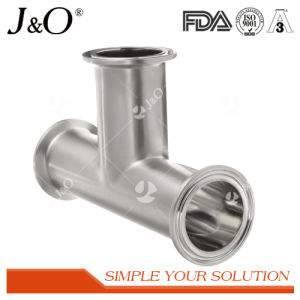 Sanitary Clamp Tee Tube Pipe Fittings pictures & photos