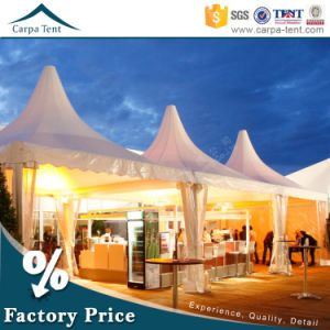 Aluminum Frame 8X8m Outdoor Pagoda Tents for Party 5X5m by Carpa pictures & photos