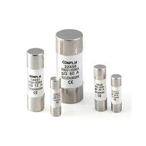 Ce Certificate Cylindrical Protection Contact Cap Fuse Link pictures & photos