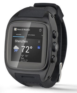 Android SIM Card Smart Watch with GPS WiFi pictures & photos