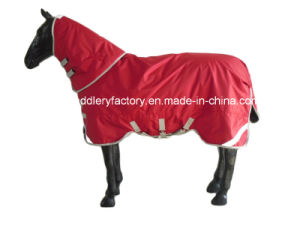 Waterproof Breathable Winter Horse Rugs (SMR1589) pictures & photos