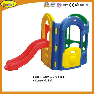Four in One Kids Plastic Slide with Rotational Molding