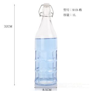 Snap Joint Airtight Glass Bottle for Oil, Wine and Enzymes pictures & photos