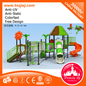 Commercial Kids Plastic Slides Preschool Outdoor Playground pictures & photos