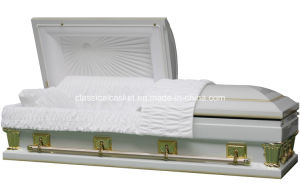 Frank Purity 28 Inches Oversize Metal Casket pictures & photos
