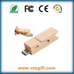 Promotional USB Product Wooden USB Memory Stick for Corporate Gift pictures & photos