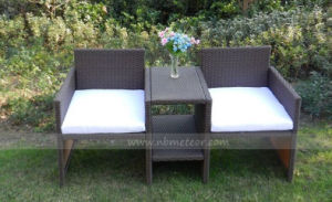 Mtc-223 Kd Style Outdoor Garden Rattan Chair 2 Seat pictures & photos