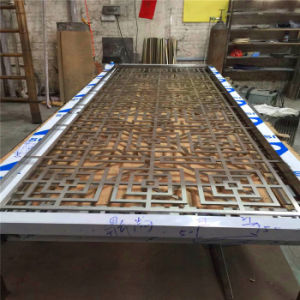 Stainless Steel Sheet Metal Fabrication Laser Cut Screen Room Divider From China Factory pictures & photos