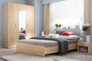 Modern Simple Style Bedroom Furniture Sets (HF-EY080410) pictures & photos