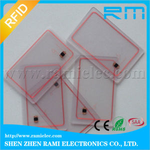 Cr80 RFID NFC 13.56MHz Ultralight Clear/Transparent PVC Card pictures & photos