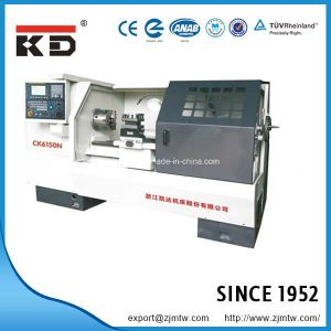 High Precision Flat Bed CNC Cutting Machine, CNC Lathe Ck6150n/1500 pictures & photos