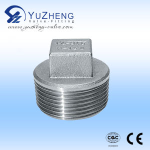 Stainless Steel Square Plug with Male Thread pictures & photos