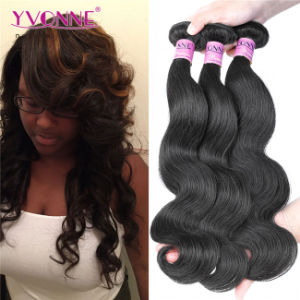 Natural Color Body Wave Human Hair Extension Brazilian Hair pictures & photos