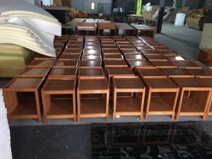 Chinese Hotel King Size Modern Bedroom Furniture Sets (GLB-222) pictures & photos