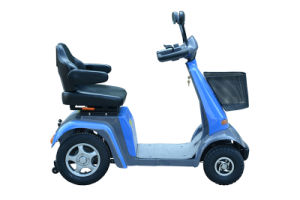 Four Wheel 14inch 800W Pg Controller Mobility Scooters pictures & photos