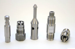 CNC Precision Machined Inner Thread Parts pictures & photos