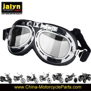 4481020A Fashionable ABS Harley Type Goggles for Motorcycle pictures & photos