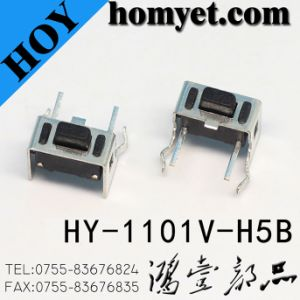 3*6 Tact Switch (HY-1101V-H7) with Stand for Auto Audio Parts pictures & photos
