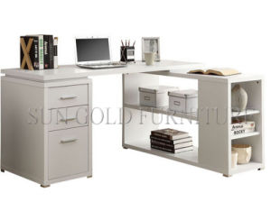 Modern Laptop Gaming Computer Desk Style Wooden Office Table (SZ-OD362) pictures & photos