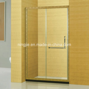 Art Stainless Steel Frame Bathroom Shower Screen (A-8950) pictures & photos