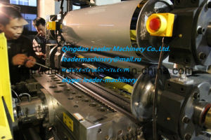 PP PE Thin Sheet Extrusion Line / Double Position Winder / 0.2-2.0mm / T-Die Head pictures & photos