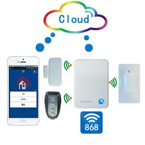 2015 New Alarm! Smart Burglar Alarm System with Small Size Function, Fashion Alarm FC-300