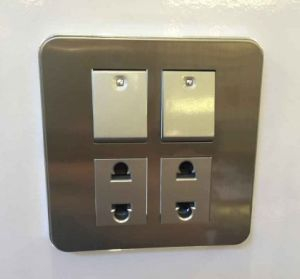 Fashion Design High Quality Pakistan Series 2+2 Wall Switch Socket pictures & photos