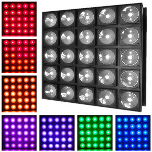 Cheap 25PCS 30W RGB Stage LED Matrix Light pictures & photos