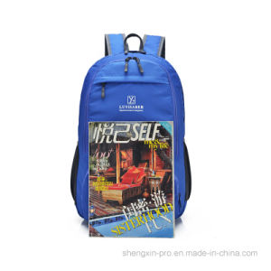 Foldable Light Back Pack School Bag with Two Shoulders pictures & photos
