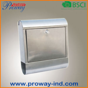 Wall Mounted Waterproof Mailbox Mail Box (PW-631-SS) pictures & photos