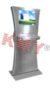 Custom Slim Multimedia Advertising Kiosk Machine pictures & photos
