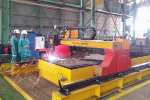High Definition Plasma & Flame CNC Plate Cutting Machine pictures & photos