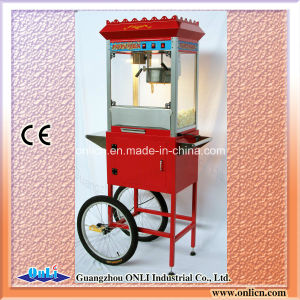 OEM Popcorn Machine with Cart pictures & photos
