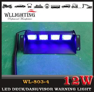 LED Car Strobe Flash Dash Deck Visor Warning Emergency Light pictures & photos