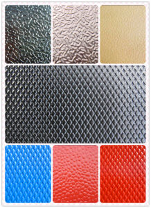 Color Coated Stucco Embossed Aluminum Sheet for Decoration Roofing (1050 1060 1100 3003 3105) pictures & photos