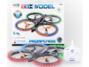 RC Helicopter Drone Quadcopter 6CH with Light UFO (H7149013) pictures & photos