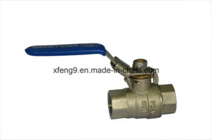 Dn15pn40 Female Brass Ball Valve pictures & photos