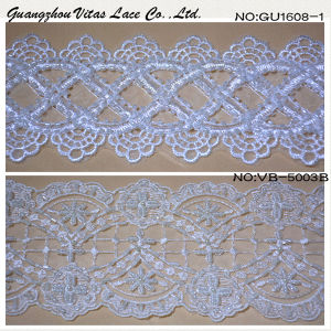 Floral Lace Trimming for Evening Gown Vb5003b and Ug-1608-1 pictures & photos