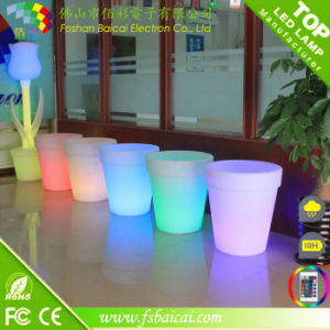 LED Light Garden Flower Pot Used in Swinning Pool pictures & photos