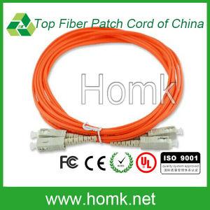Sc Duplex Fiber Patch Cord Multimode pictures & photos
