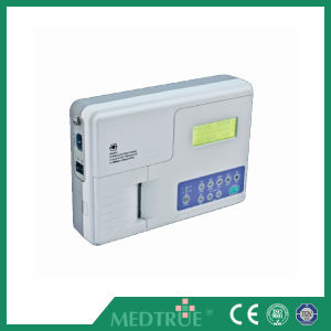 Hot Selling Medical Digital 1 Channel 5.1′′ ECG Machine pictures & photos